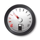 Gas tank icon. On white Royalty Free Stock Image