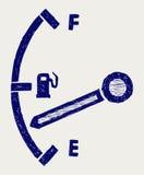 Gas tank illustration Stock Photo