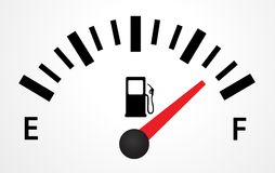 Gas Tank Illustration Stock Photo