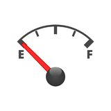 Gas tank illustration on white. Vector icon Stock Photo