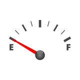 Gas tank illustration on white. Vector icon Royalty Free Stock Photography