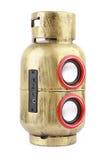 Gas Tank Style Speaker Stock Photo