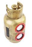Gas Tank Style Speaker Royalty Free Stock Photo