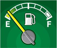 Gas tank. Vector illustration of the Gas tank Stock Image