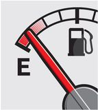 Gas tank. Vector illustration of the Gas tank Royalty Free Stock Photos