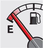 Gas tank royalty free illustration