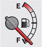 Gas tank. Vector illustration of the Gas tank Stock Photos