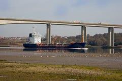 Gas-Tanker in Großbritannien Stockfotos