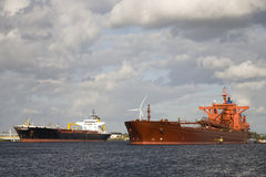 Gas tankers Stock Photos