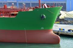gas tankfartyget för grudeindustriolja Royaltyfri Fotografi