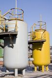 Gas tanks Royalty Free Stock Photography