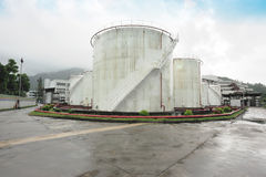 Gas tanks Stock Images