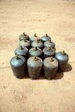 Gas tanks Stock Photography