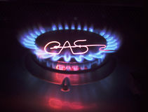 Gas torch Stock Photography