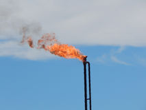 Gas torch. Royalty Free Stock Image