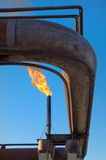 Gas torch. Royalty Free Stock Images