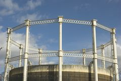 Gas Tower Royalty Free Stock Image