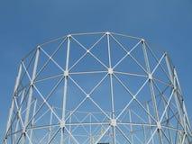 Gas tower. Gas storage tower Stock Image