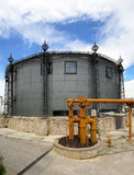 Gas Tower Conversion Stock Photo