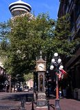 Gas Town Steam Clock, Vancouver. Royalty Free Stock Image