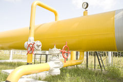 Gas transport Royalty Free Stock Images