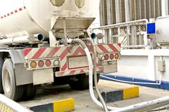 Gas transportation Stock Photos