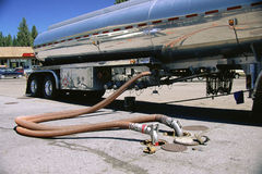 Gas truck Stock Images