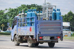 Gas truck of Northern industrial gases Company. Stock Photography