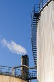 Gas- und Erdölindustrie. lizenzfreies stockfoto