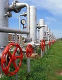 Gas- und Erdölindustrie Stockfotos