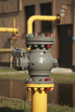 Gas valve Royalty Free Stock Image