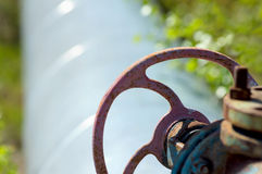 Gas valve Stock Photography
