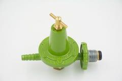 Gas valve regulator high pressure Stock Image