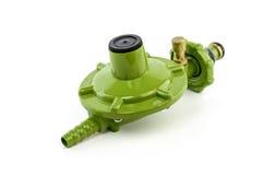 Gas valve regulator isolated on white background Royalty Free Stock Image