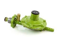 Gas valve regulator isolated on white background Stock Photography