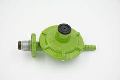 Gas valve regulator low pressure Royalty Free Stock Photos