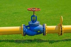 Gas valve Stock Photo
