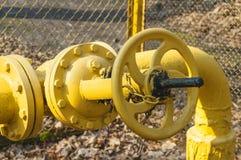 Gas valve Royalty Free Stock Image