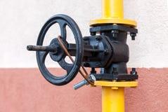 Gas valve Stock Photos