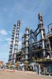 Gas-verwerkende de industrie Stock Afbeelding
