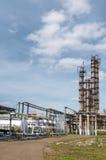 Gas-verwerkende de industrie Royalty-vrije Stock Foto's