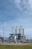 Gas-verwerkende de industrie Royalty-vrije Stock Foto
