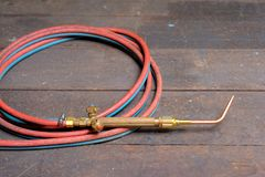 Gas Welding Torch Stock Photos