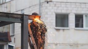 Gas welding stock video