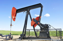 Gas well Royalty Free Stock Photography