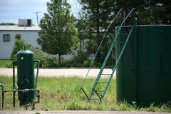 Gas well royalty free stock photos
