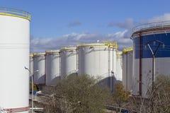 Gas wharehouse Royalty Free Stock Photos
