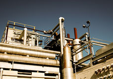 Gas Works Royalty Free Stock Images