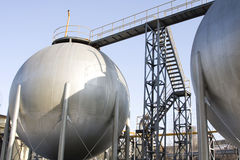 Gas-Zylinder Lizenzfreies Stockfoto