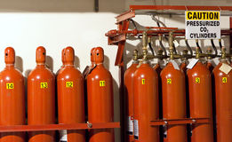 Gas-Zylinder Stockbilder